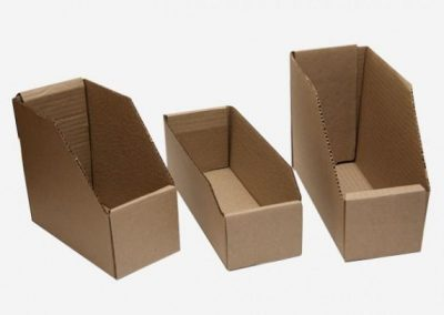 Caja para repuesto
