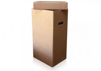 Caja para reciclaje sin impresión