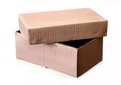 Caja con tapa simple